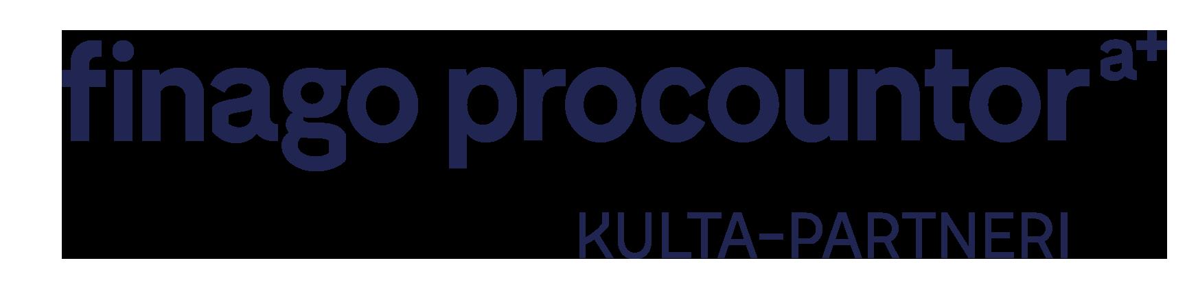 Finago Procountor Kulta-partneri -logo